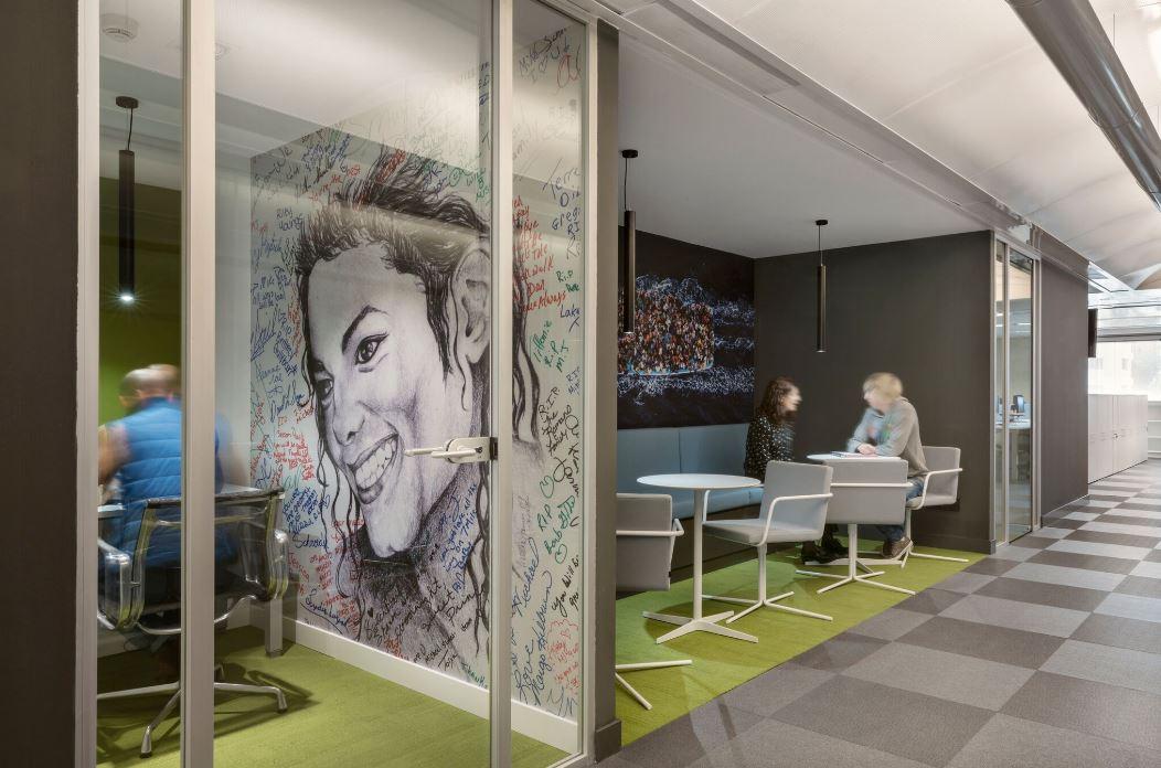 Oficinas de El País. Workplace . Open Space .3 Cómo se trabaja en un periodico 14
