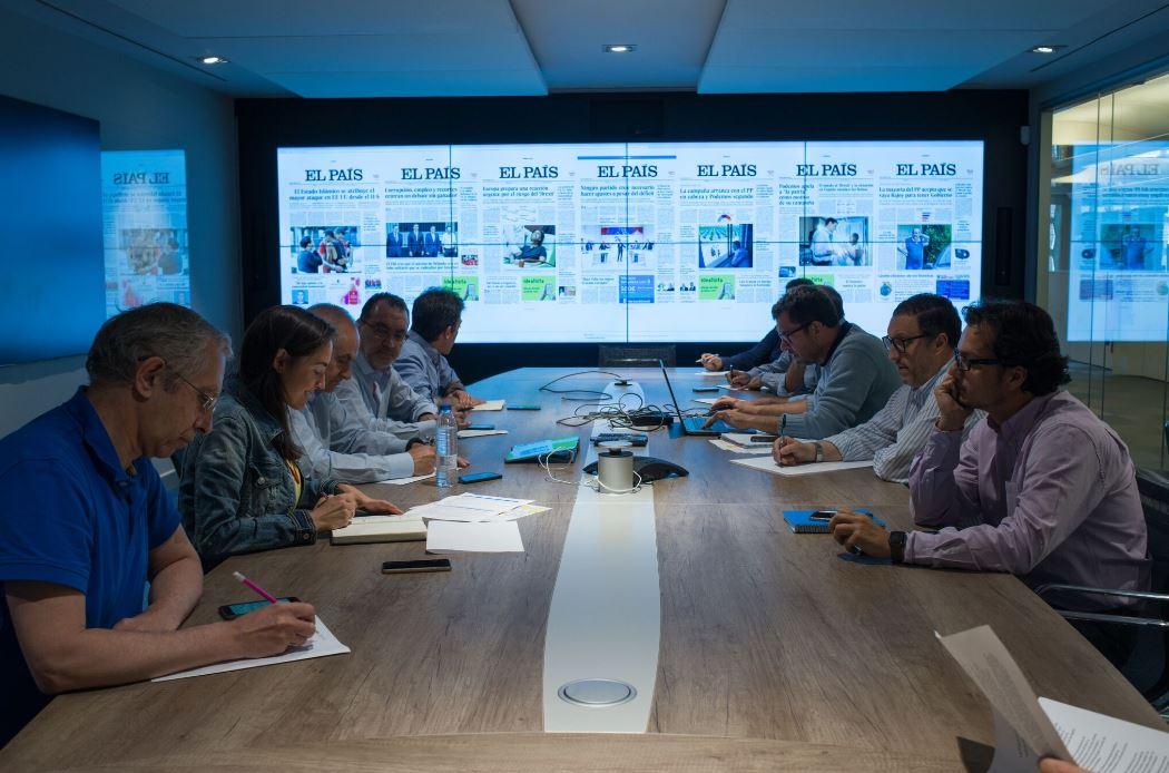 Oficinas de El País. Workplace . Open Space .3 Cómo se trabaja en un periodico