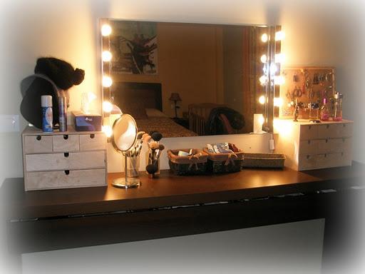 El tocador t rinc n de belleza y estilo 10decoracion - Espejos de tocador con luz ...