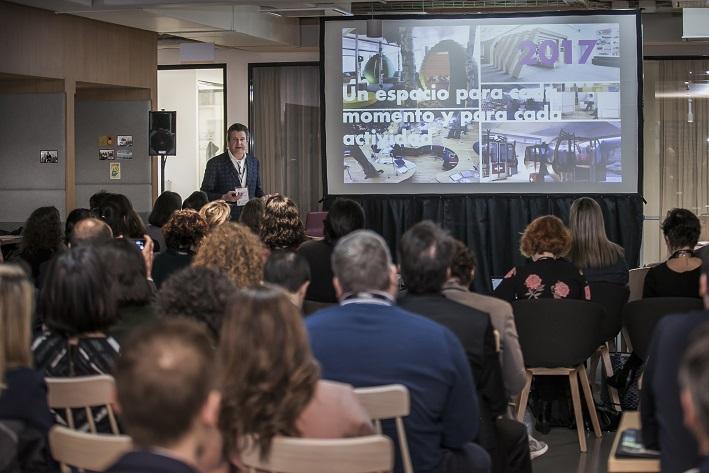 Presentacion Francisco Vazquez Medem . smart conversations 3g office 2018 workplace design conference barcelona . Transformación de las empresas
