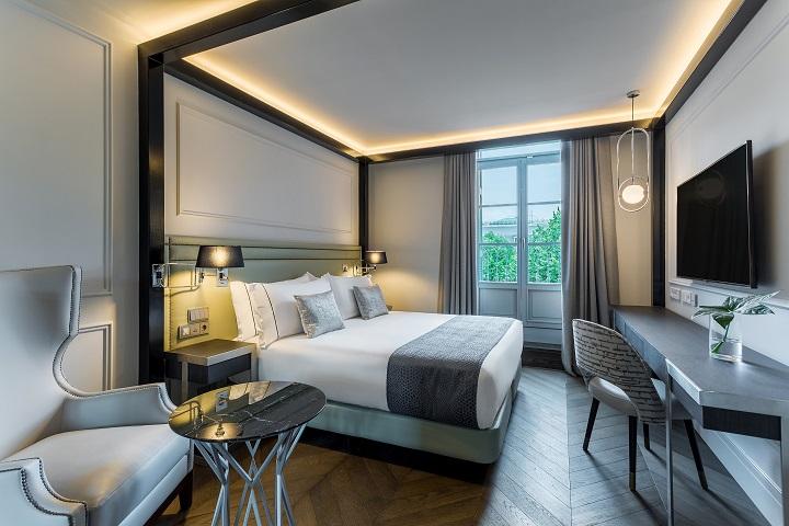 Hotel ROOM MATE GORKA en San Sebastián. Habitación hotel diseño Cuarto Interior 2