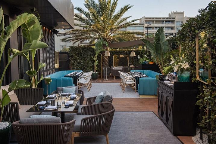 Restaurante Zela en Ibiza Interiorismo Studio Gronda terraza Fotos ©Jose Salto