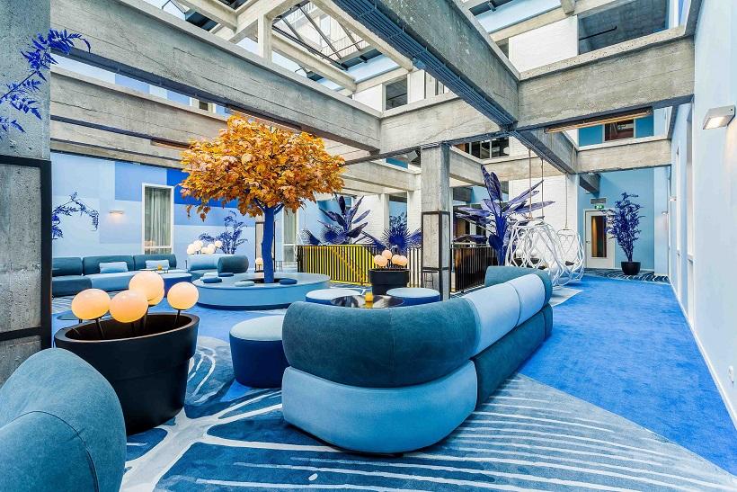 Room Mate Rotterdam . Room Mate Bruno . Proyecto Teresa Sapey Lobby