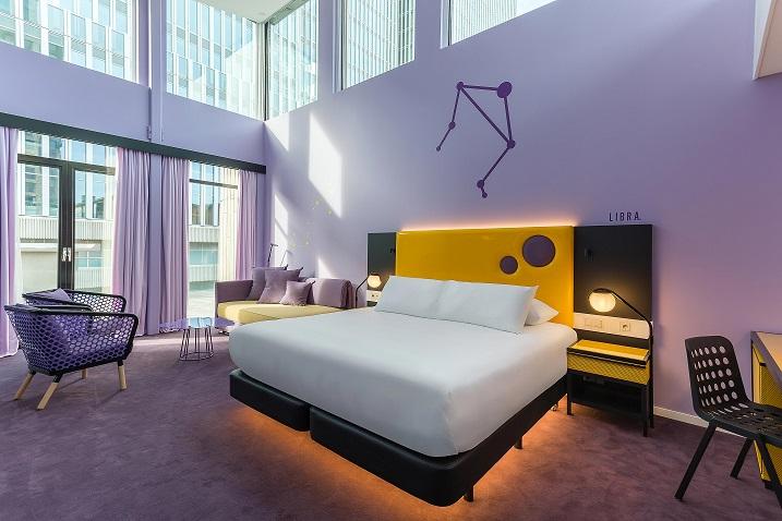Room Mate Rotterdam . Room Mate Bruno . Proyecto Teresa Sapey HABITACIÓN SUPERIOR.