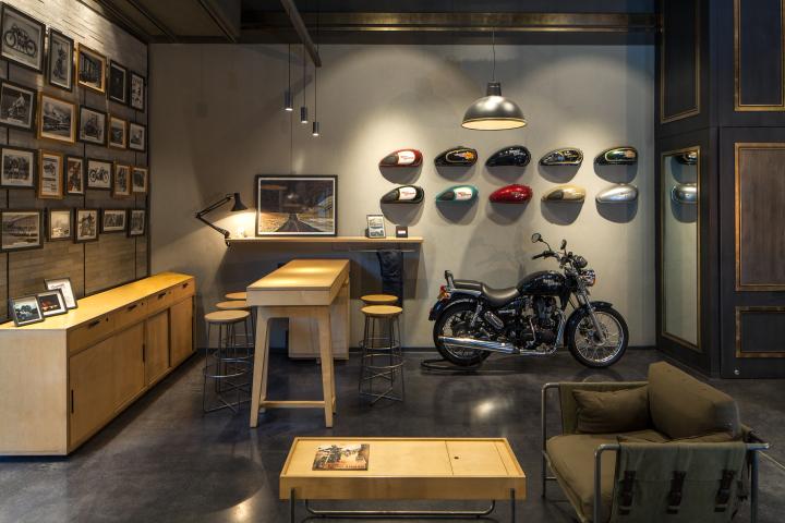 Royal-Enfield-store-by-Lotus-New-Delhi-India