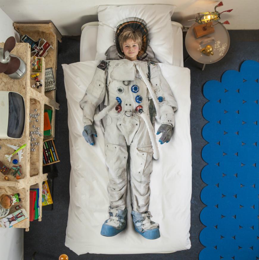SABANAS ASTRONAUTA Dormitorios juveniles con estilo
