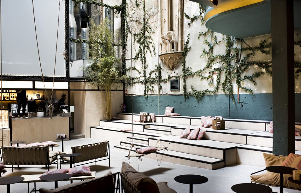 Sala Equis Madrid LuciaMphoto diseño Plantea Estudio Payser
