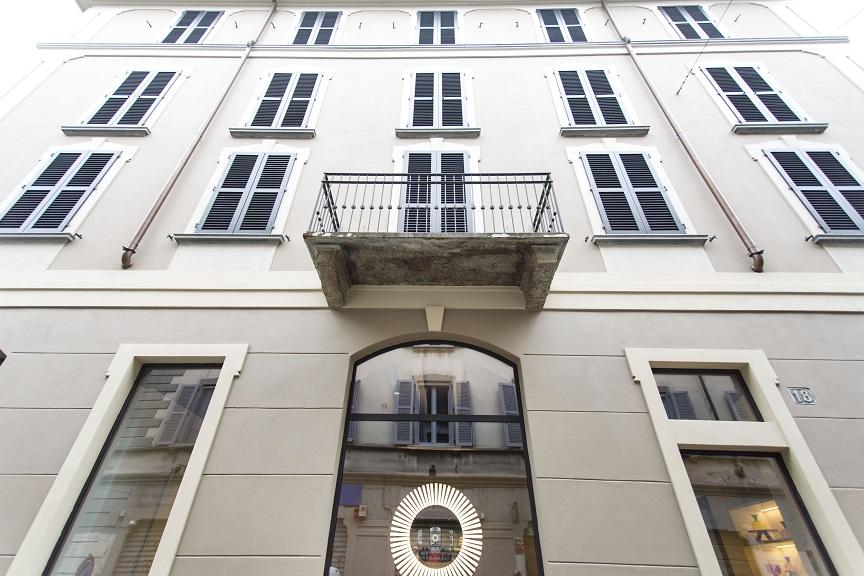 Savona 18 Suites Milano. Project Aldo Cibic . photo Adelaide Saviano Facciata. Navigli