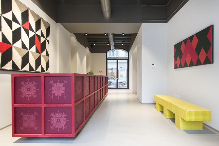 Savona 18 Suites Milano. Project Aldo Cibic . photo Adelaide Saviano Reception