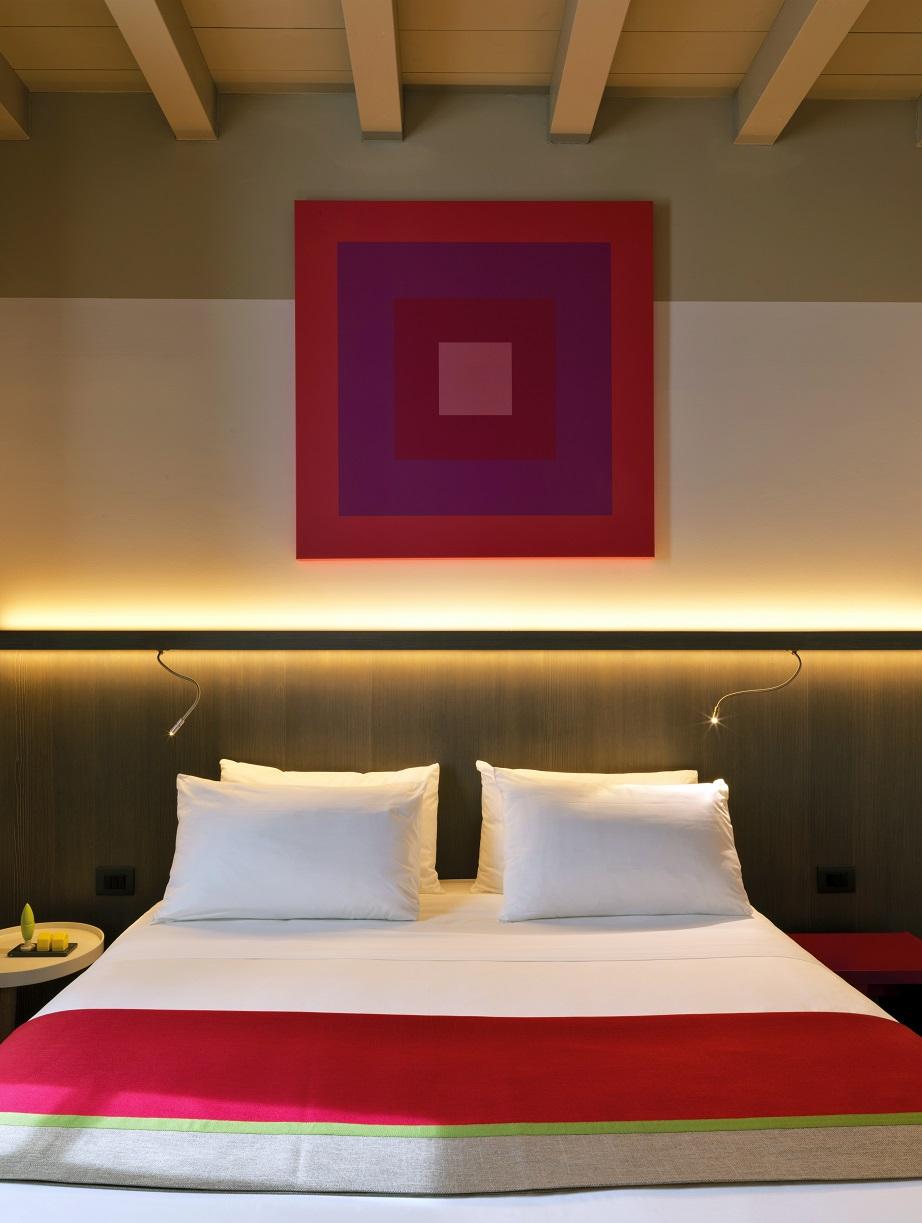 Savona 18 Suites Milano. Project Aldo Cibic . photo Matteo Piazza. Stanze albergo