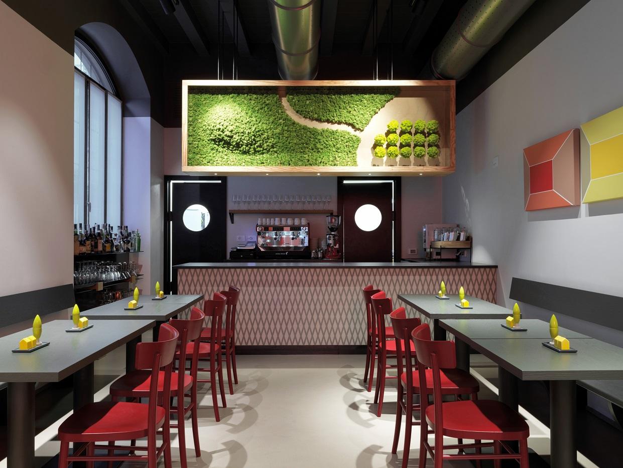 Savona 18 Suites Milano. Project Aldo Cibic . photo Matteo Piazza. bar