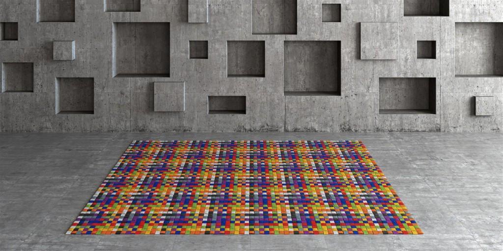 WOOPRUGS KUADRATO by MANUEL TORRES DESIGN . decorar con alfombras