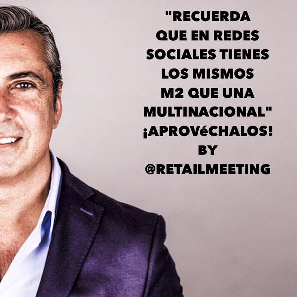 el cliente figital Alex Lopez Sartia. Retailmeeting Retail Design Conference 3g office