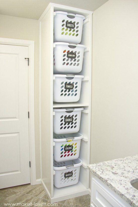 almacenaje en lavanderia