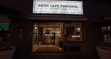 El nuevo ANTIC CAFE ESPANYOL