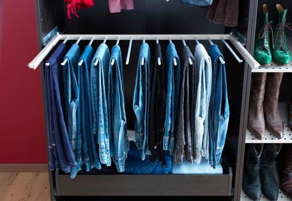 Organiza un vestidor a tu medida 10decoracion - Como ordenar tu armario ...