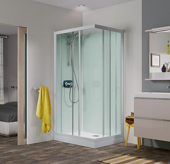 bañera o ducha cabina Kineprime Glass 80x 100 GRANDFORM