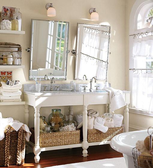 decorar lavabos antiguos : decorar lavabos antiguos:Complementos: Estos son los que aportan el toque chic, cajas decoraras