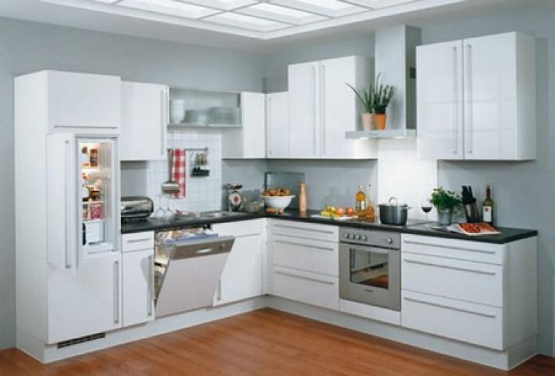 El blanco inunda la cocina 10decoracion - Cocinas en color blanco ...