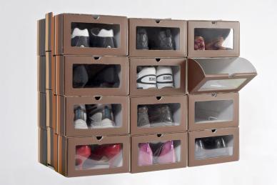 Organiza un vestidor a tu medida 10decoracion - Cajas transparentes para zapatos ...