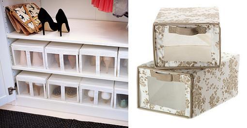 Organiza un vestidor a tu medida 10decoracion - Guardar zapatos ikea ...