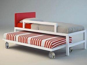 cama-nido-para-ninos-mixta- Dormitorios juveniles con estilo