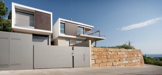 casa v magma arquitectura 8 mar muro piedra costa brava