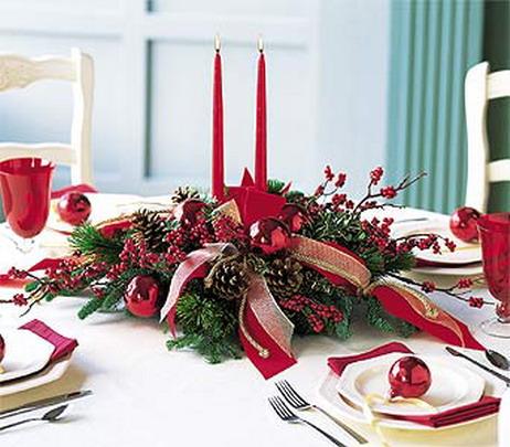 La mesa de navidad 10decoracion - Arreglos navidenos para mesa ...