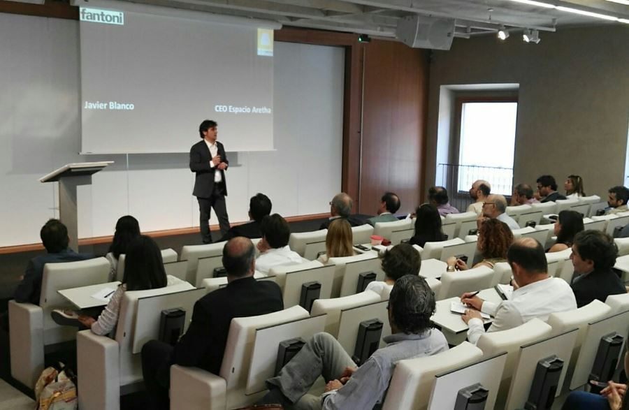 Francisco Javier Blanco CEO de Espacio Aretha. Como serán las oficinas del futuro ?