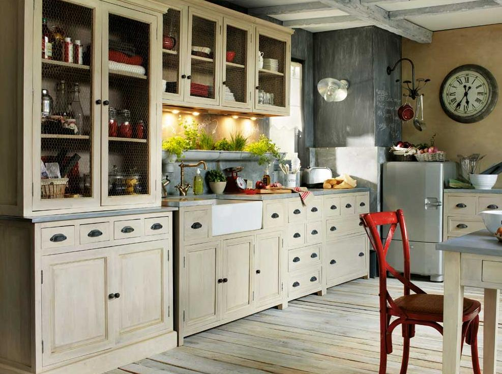 cocinas vintage 10decoracion. Black Bedroom Furniture Sets. Home Design Ideas