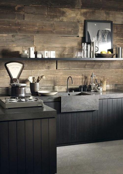 Renovar cocina sin obras. cocinas negras. Ideas para cambiar la cocina sin obras.