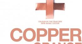 «COPPER ORANGE», Color Akzonobel para el año 2015!