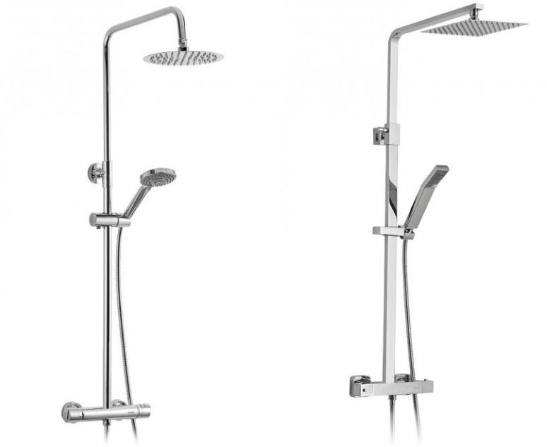 C mo instalar una columna de ducha termost tica 10decoracion for Partes de una ducha telefono