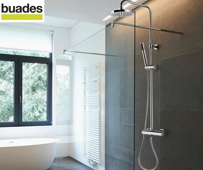 C mo instalar una columna de ducha termost tica 10decoracion for Como instalar una regadera de bano