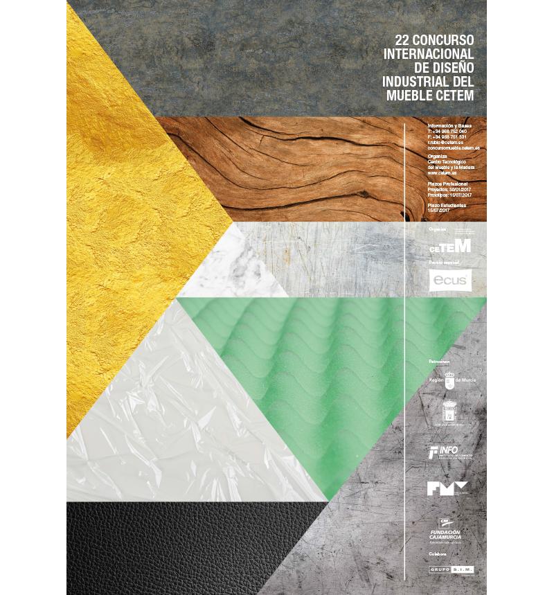 concurso de diseño industrial cetem 2017