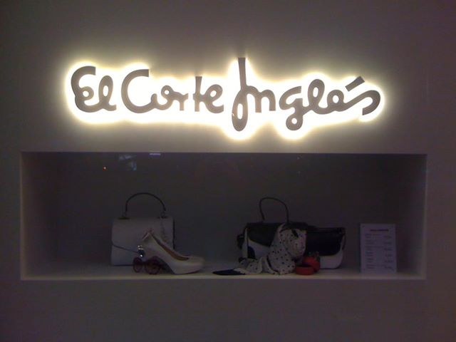 Escaparate El Corte Inglés. Verano 2013