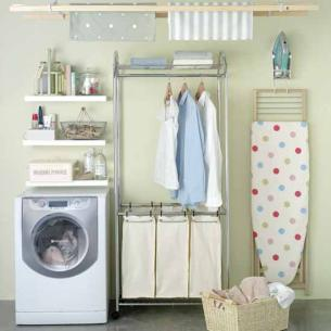Tienes un cuarto de lavado y planchado aprende c mo for Diseno de muebles para cuarto de lavado