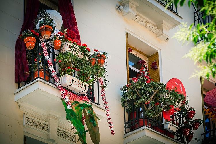 decoraccion 2017 decoracion fachada concurso de balcones mahou 2