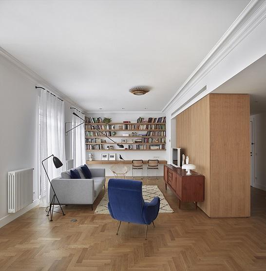 Dg arquitecto valencia reforma de oficina en vivienda - Trabajo arquitecto valencia ...
