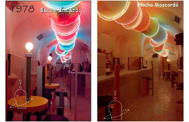 Discoteca Lucciolato diseño de Nacho Moscardó en Valencia