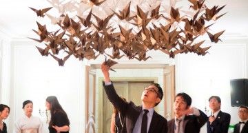 Empaperart: Origami en la Embajada de Japón