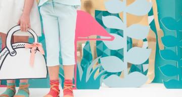 Empaperart y Manuel Espejo en la Petit Fashion Week