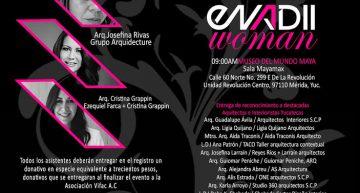 Enadii Woman 2016. Arquitectas e interioristas por la equidad. 28/9