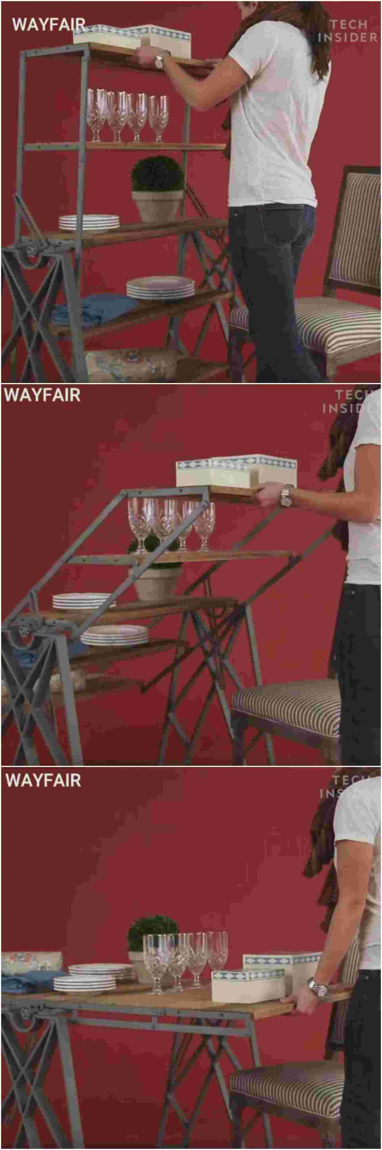 Aprovecha tu espacio con muebles multifuncionales for Silla que se convierte en mesa
