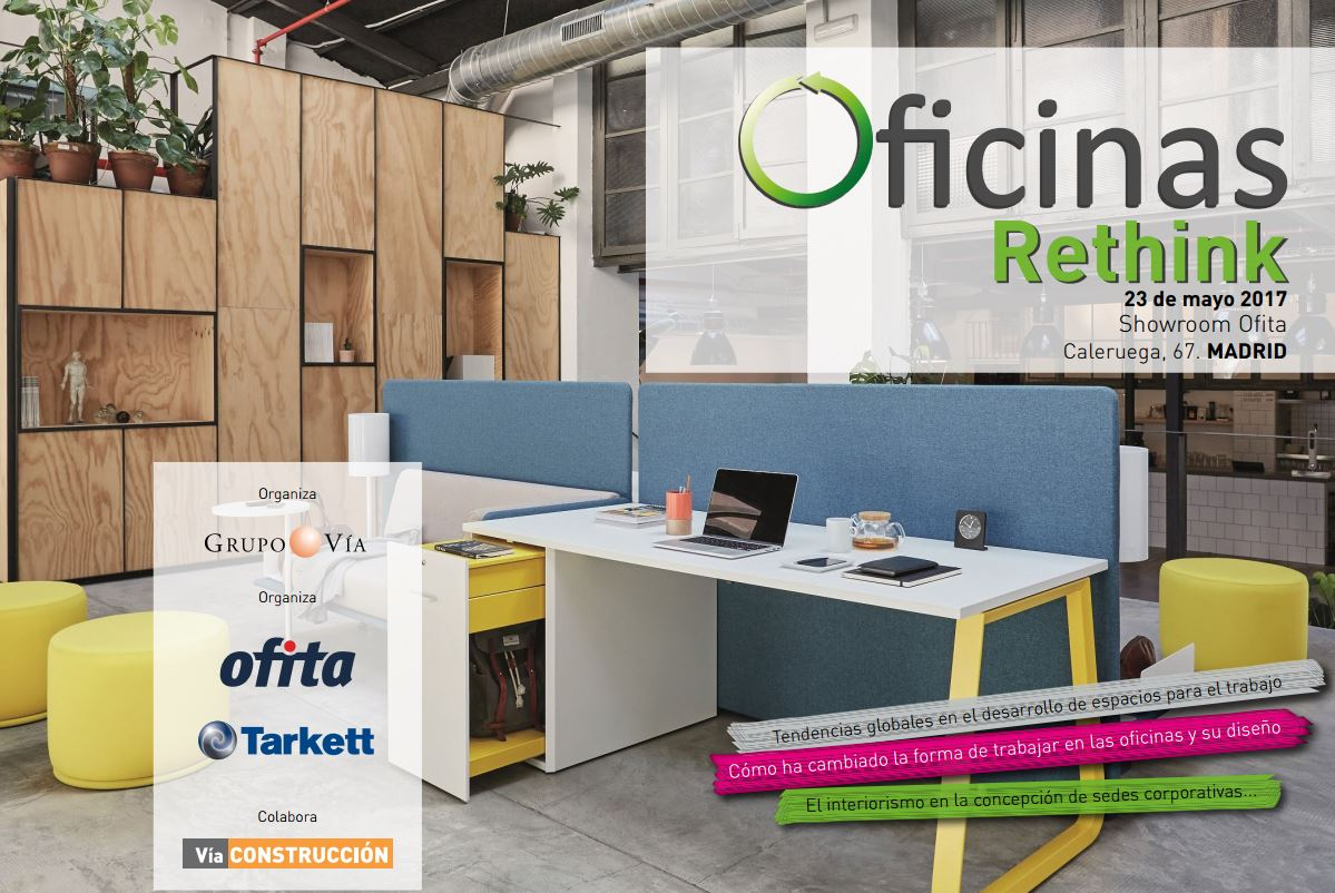 Jornada oficinas rethink grupo v a 23 de mayo showroom for Oficinas de ups en madrid