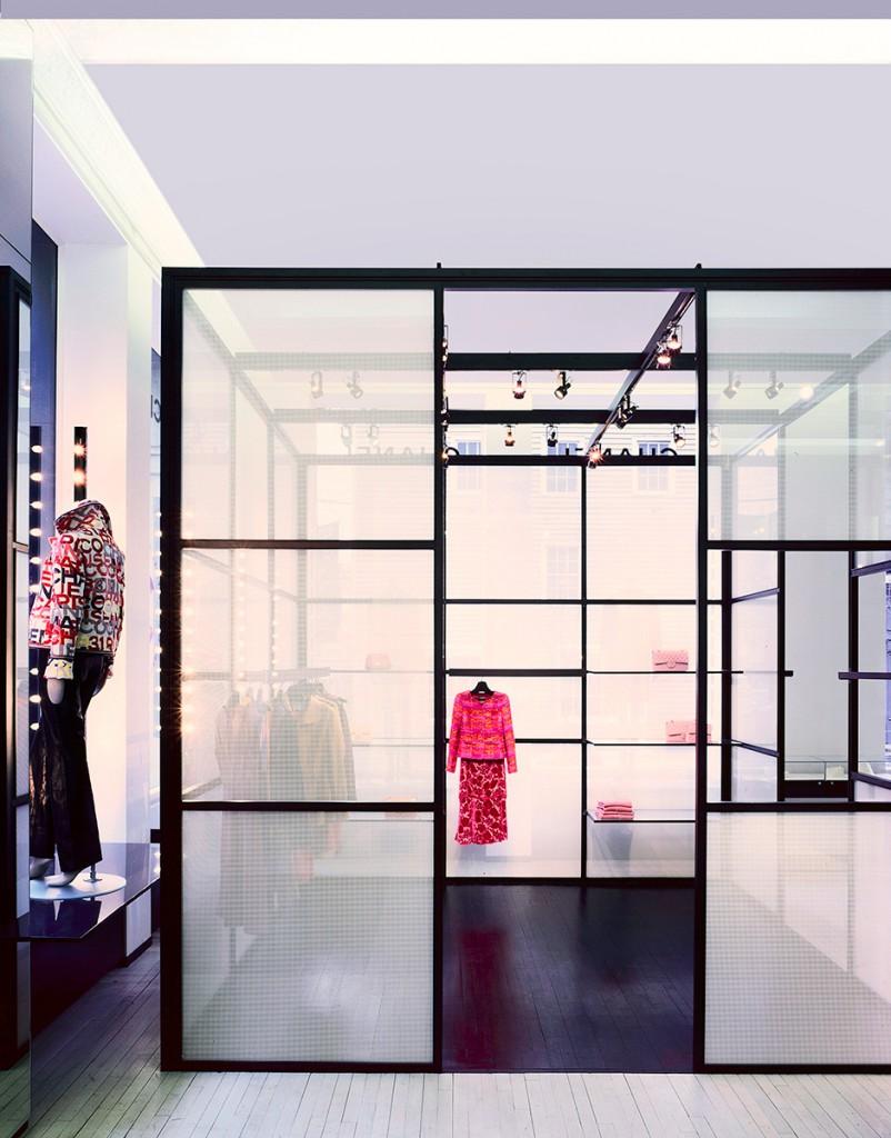 tienda chanel David Cardelús: fotografia de arquitectura e interiorismo