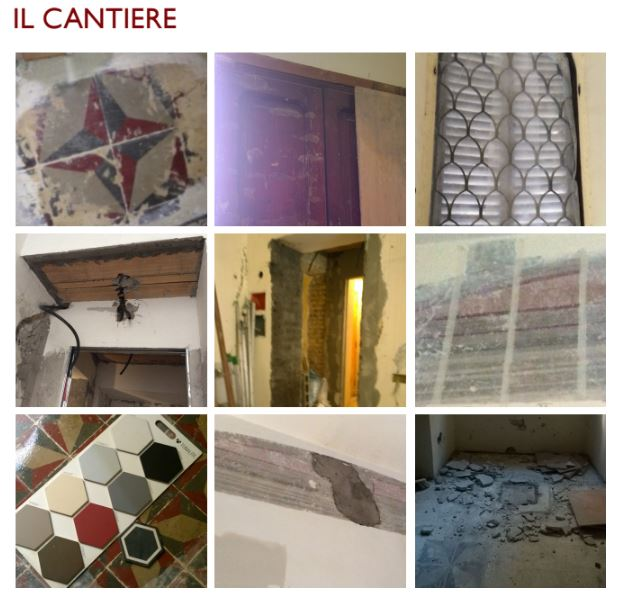 francesca bertuglia architetto Roma-reforma de apartamento en Roma colocación azulejos 2