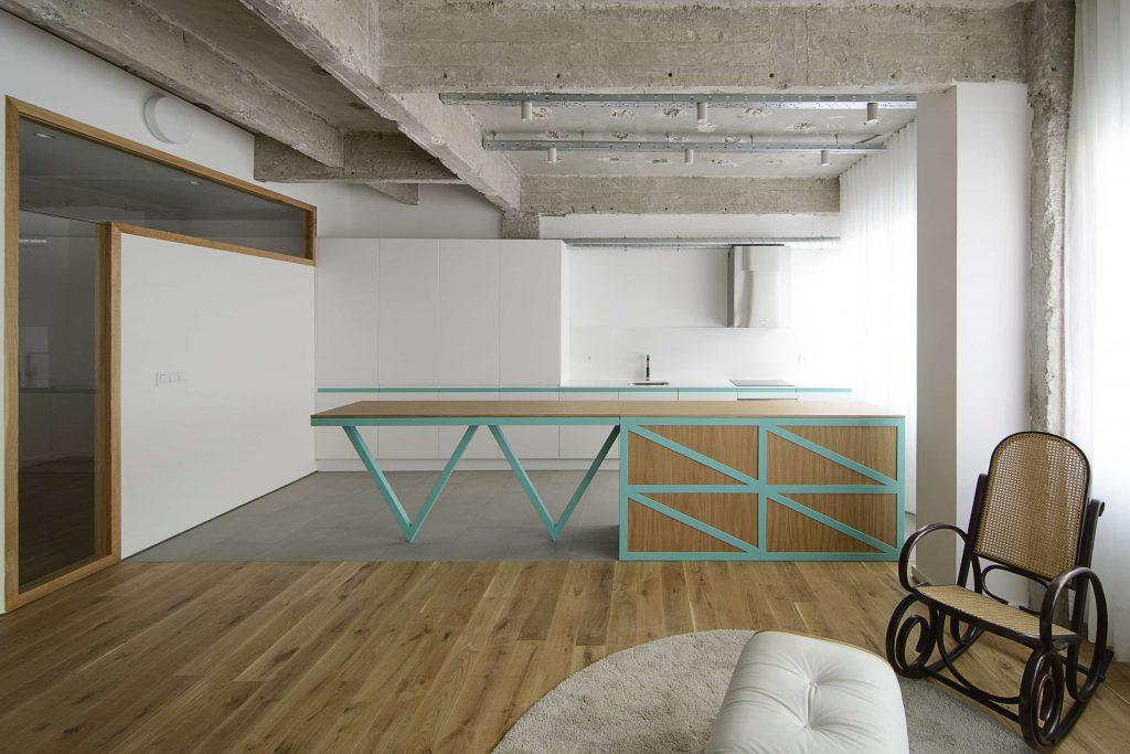 garmendia cordero arquitectos. reforma de oficina a vivienda en Bilbao (17) UN BAÑO DONDE QUIERAS