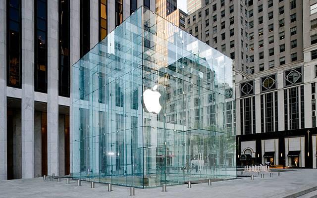 Tienda Apple Store. Nueva York