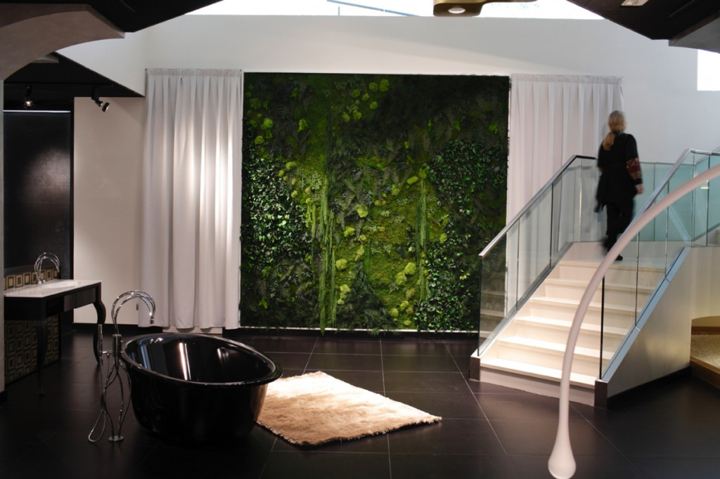 monamour greendesign . jardines verticales para color y bienestar en color verde